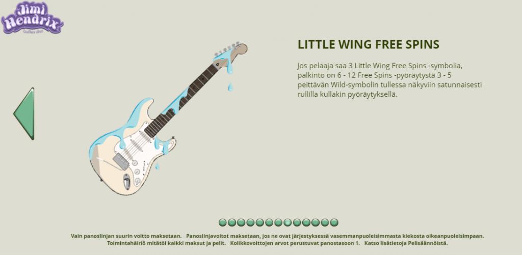 Jimi Hendrix Little Wing Free Spins