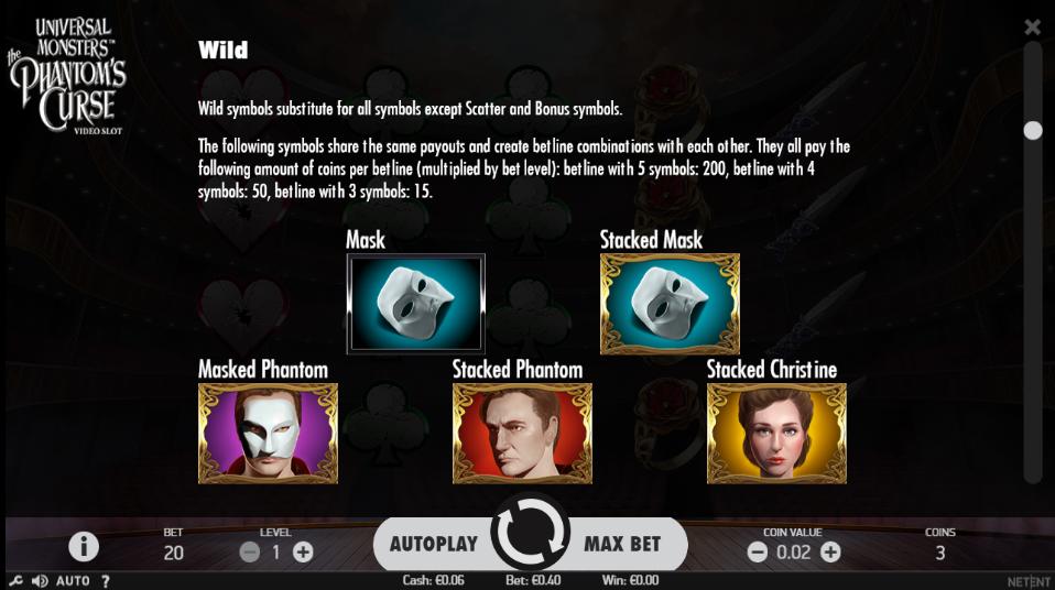 Universal Monsters the Phantom's Curse Bonus