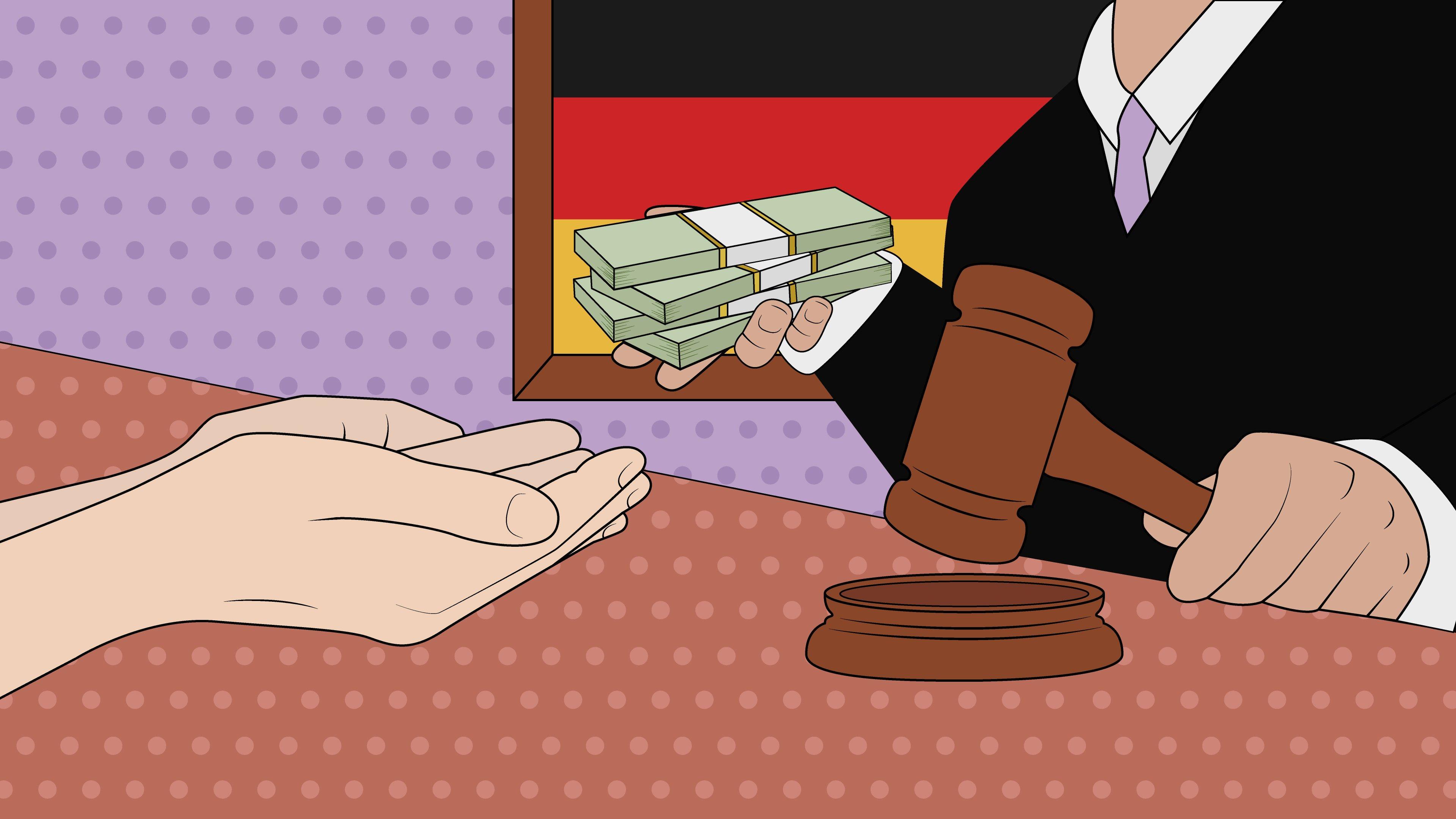 Saksalainen nettipelaaja jätti pelivelat maksamatta pankille