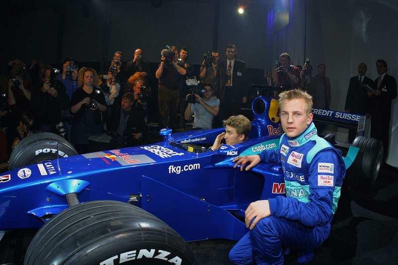 Kimi Räikkönen Sauberille