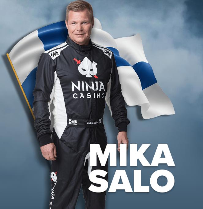 Ninja Casino brändilähettiläs Mika Salo