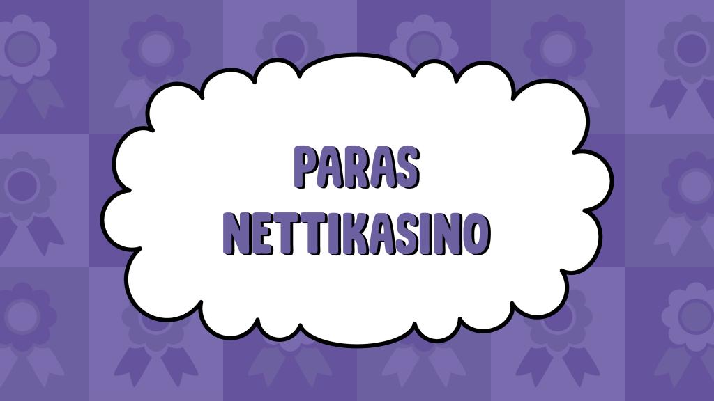 Paras Nettikasino
