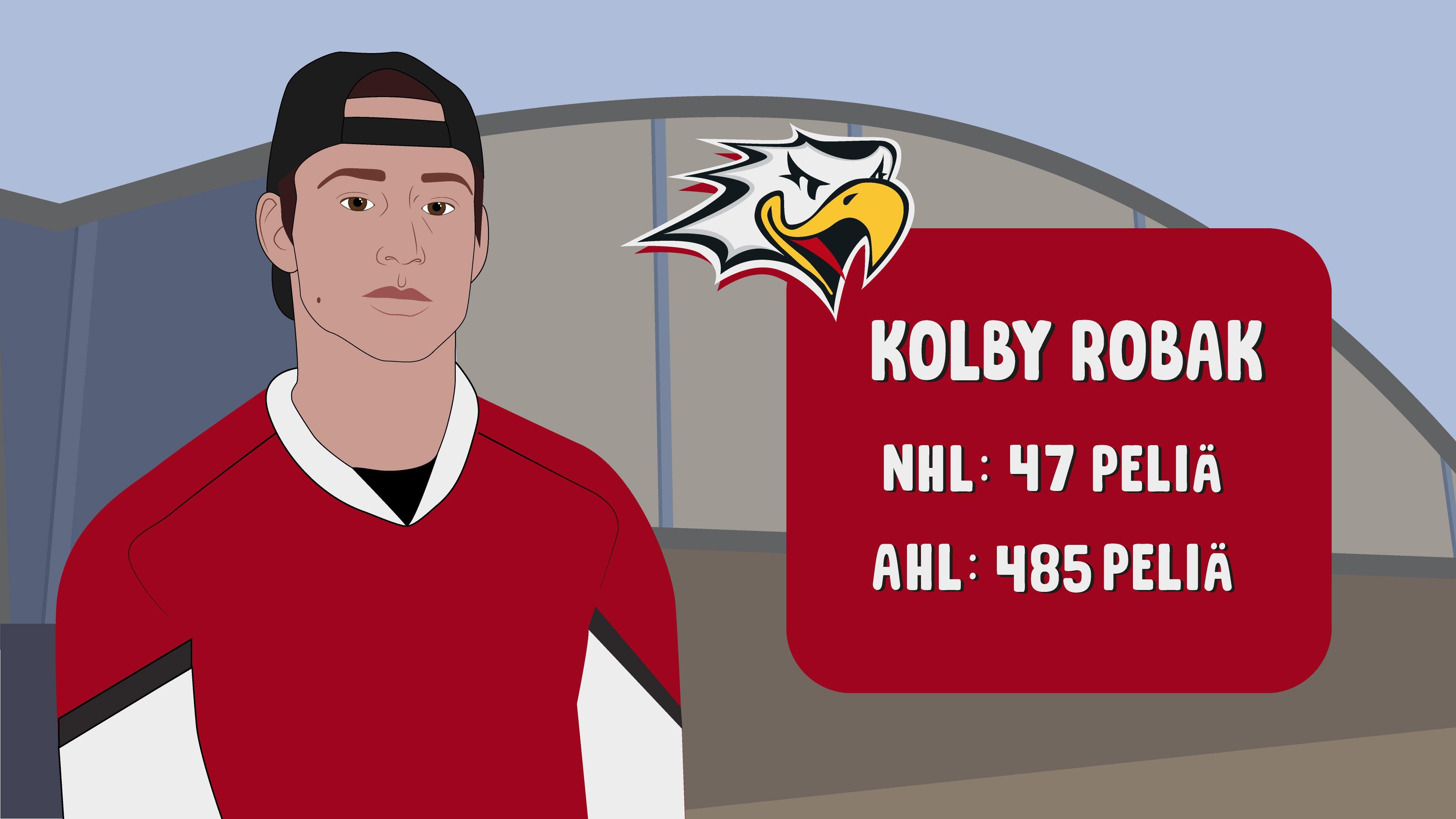 Colby Robak siirtyy Vaasan Sportiin