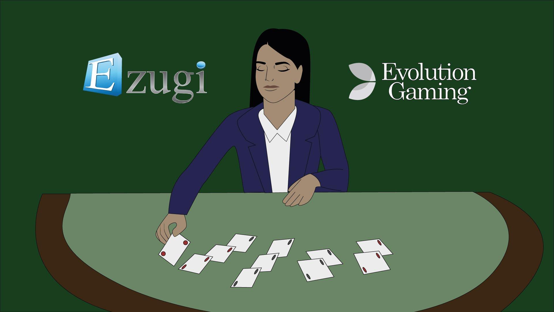 Evolution Gaming solmi sopimuksen Ezugin kanssa