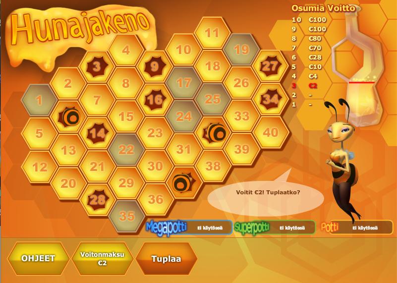 hunajakeno
