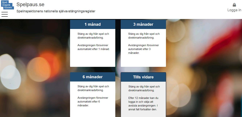 Tuhansia pelitilejä on suljettu Ruotsissa