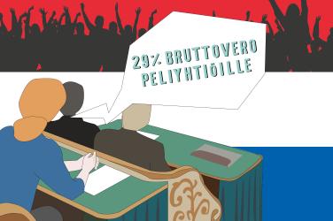 Alankomaiden uhkapelilaki on muuttumassa
