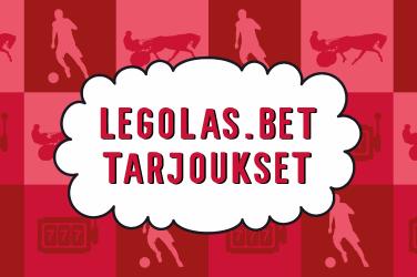 Legolas.bet tarjoukset