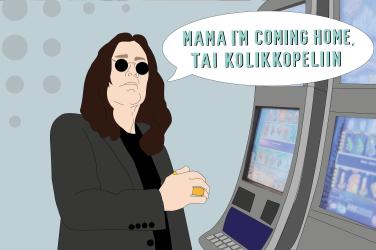 Ozzy Osbournesta NetEntin kolikkopelin tähti