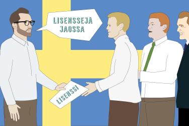 Yli 70 nettikasinoa on lisensoitu Ruotsissa