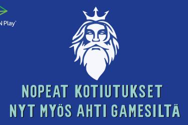AHTI Games kotiutukset 5 minuutissa