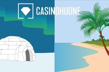 Casinohuoneen kanssa reissuun