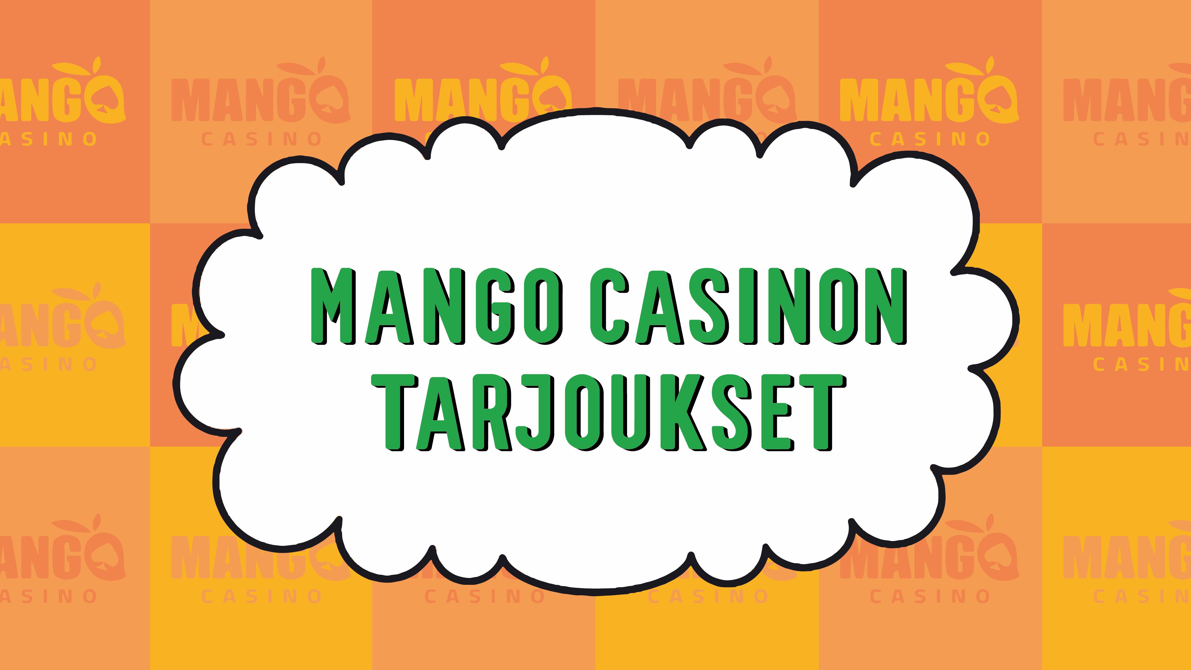 Mango Casinon tarjoukset