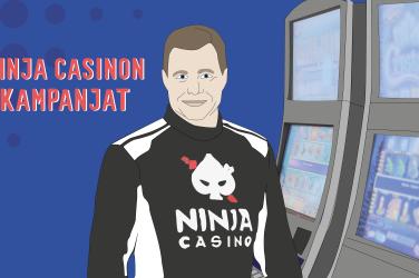 Ninja Casinon kevään kampanjat