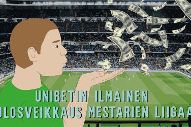 50 000 euron ilmainen tulosveikkaus