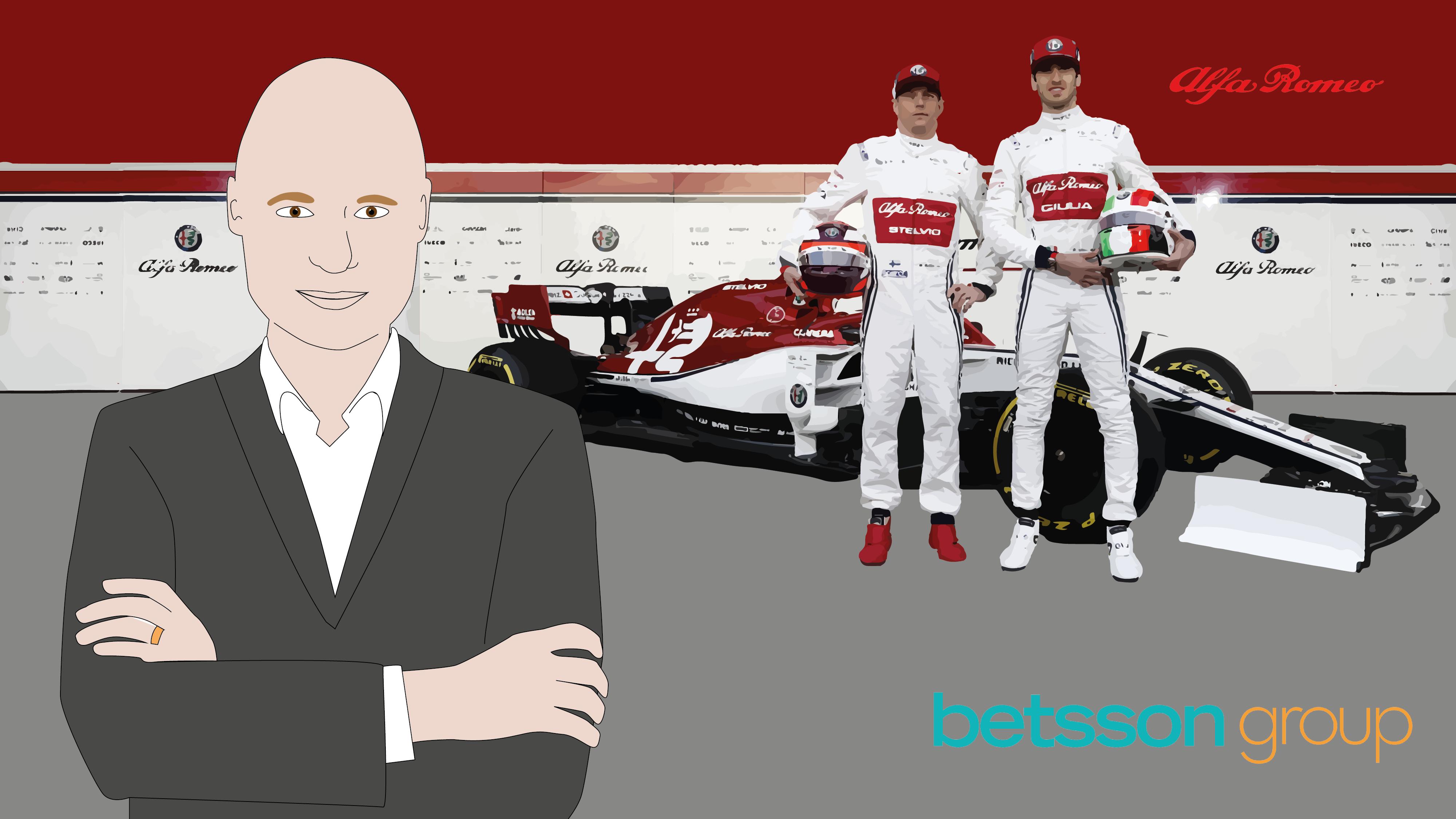 Betsson ja Alfa Romeo aloittavat yhteistyön