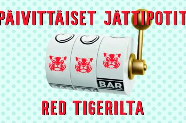 Red Tigerin päivittäiset jättipotit