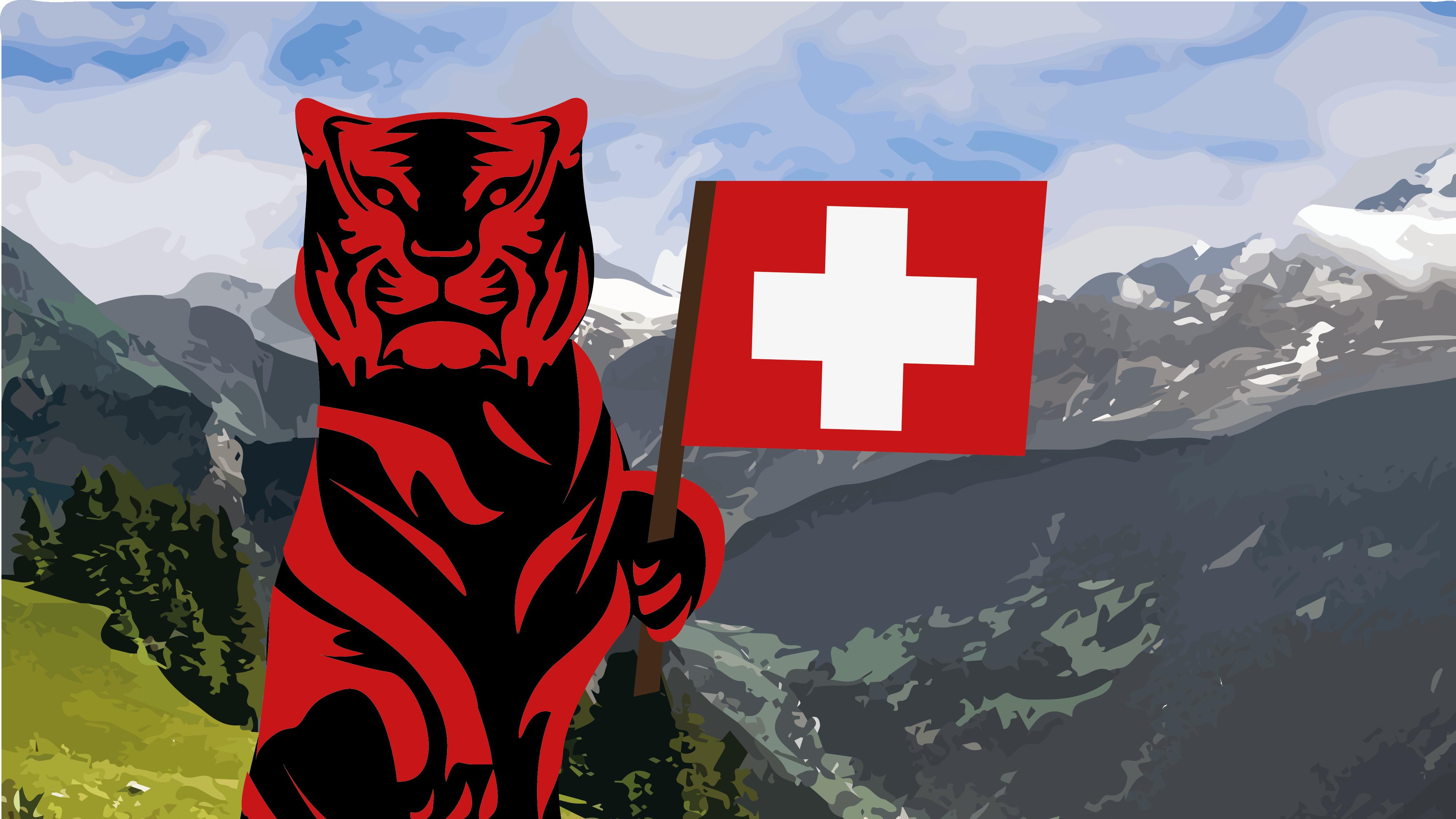 Red Tigerin jalanjälki Euroopassa kasvaa