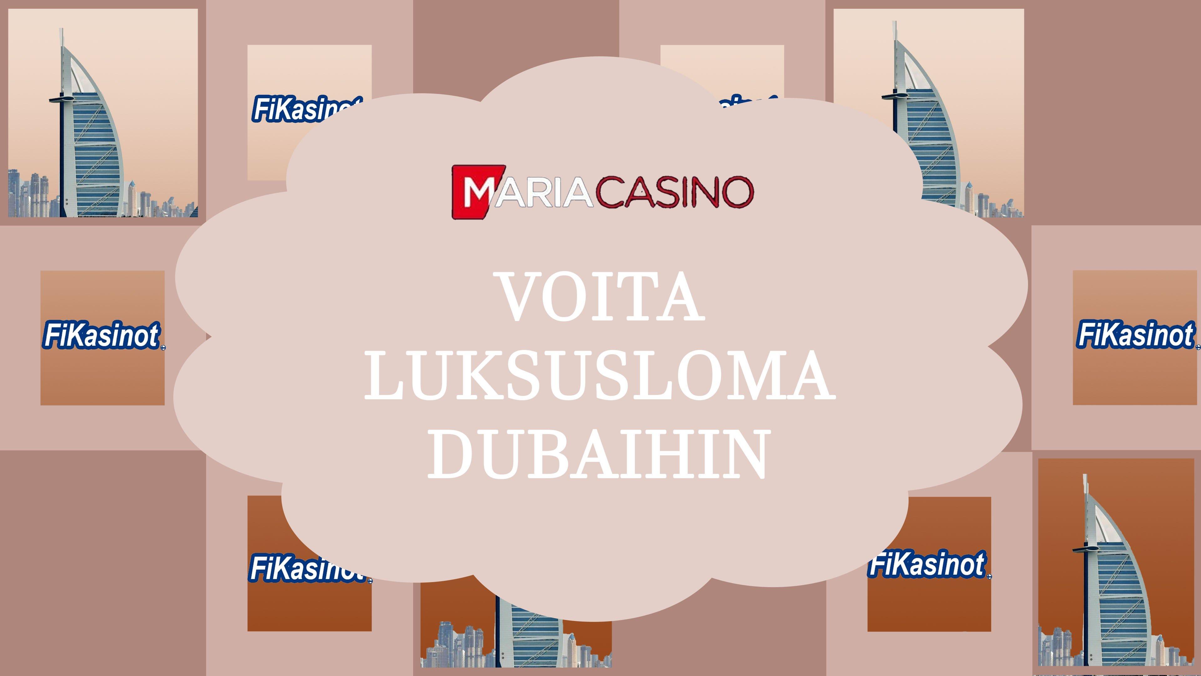 Voita luksusloma Dubaihin