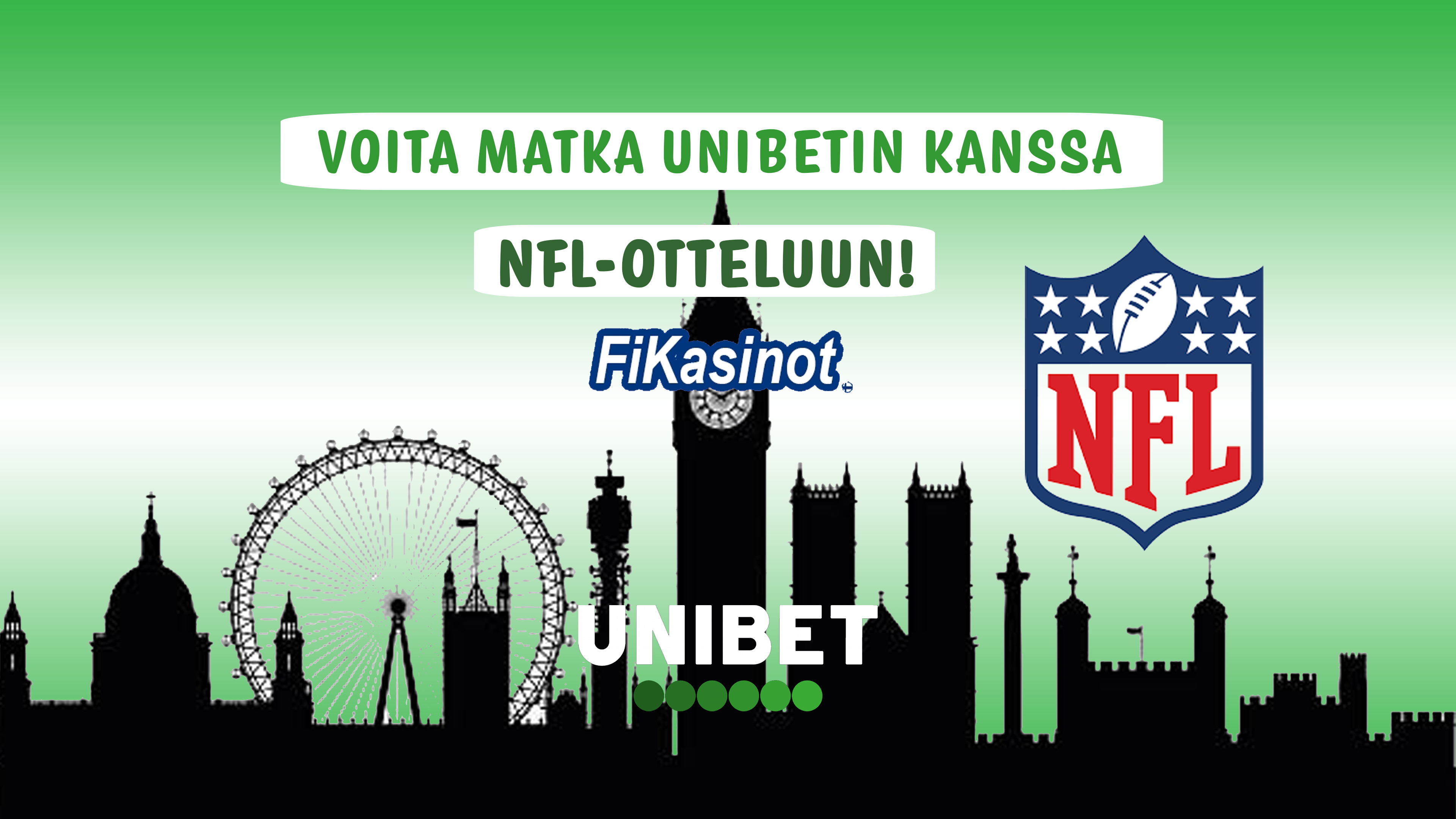 Voita NFL-matka Unibetilta