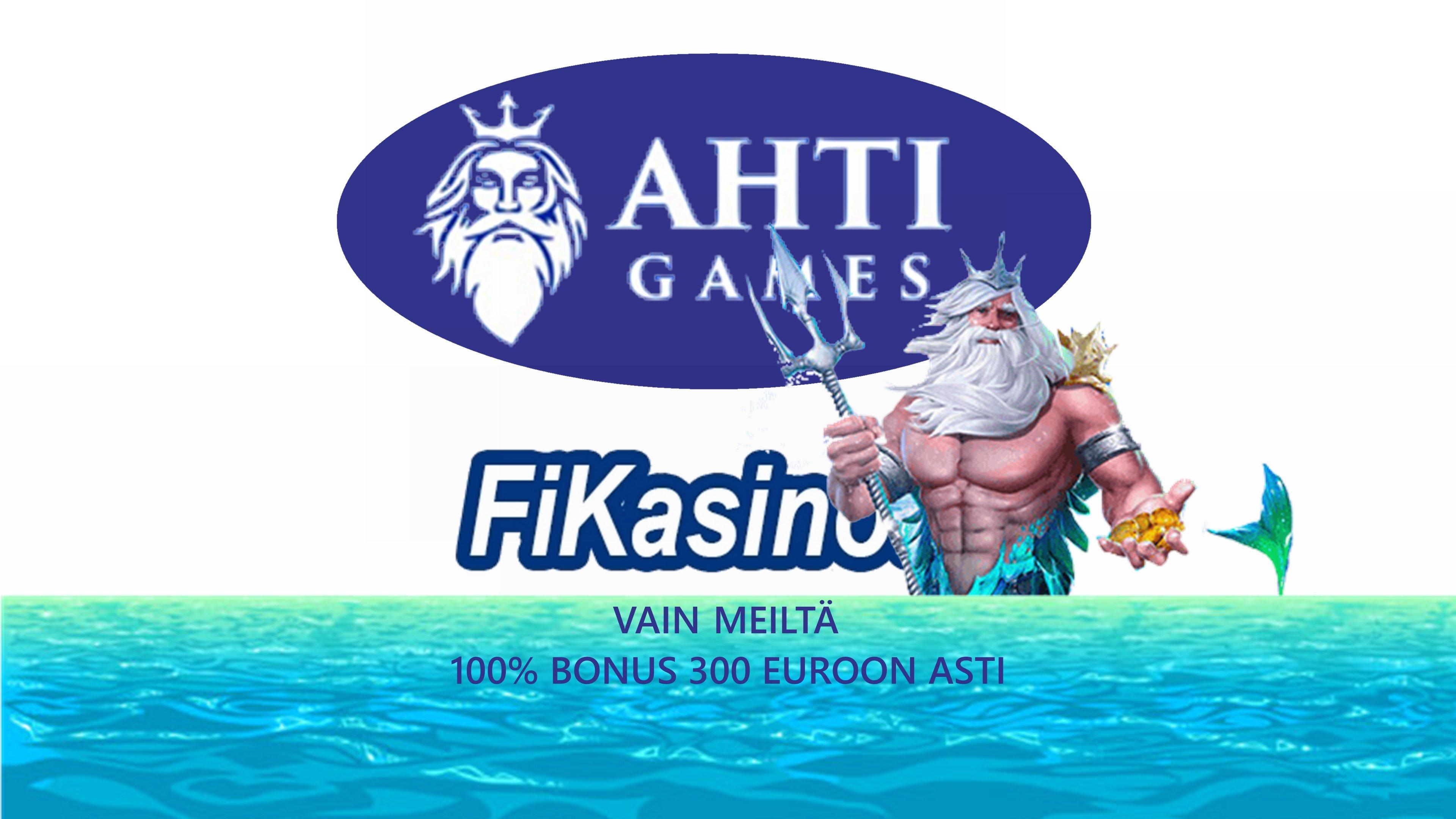 Eksklusiivinen tarjous AHTI Gamesille
