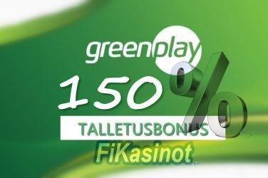 GreenPlay Casino talletusbonus
