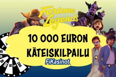 Fortune Legends Casino käteiskilpailu