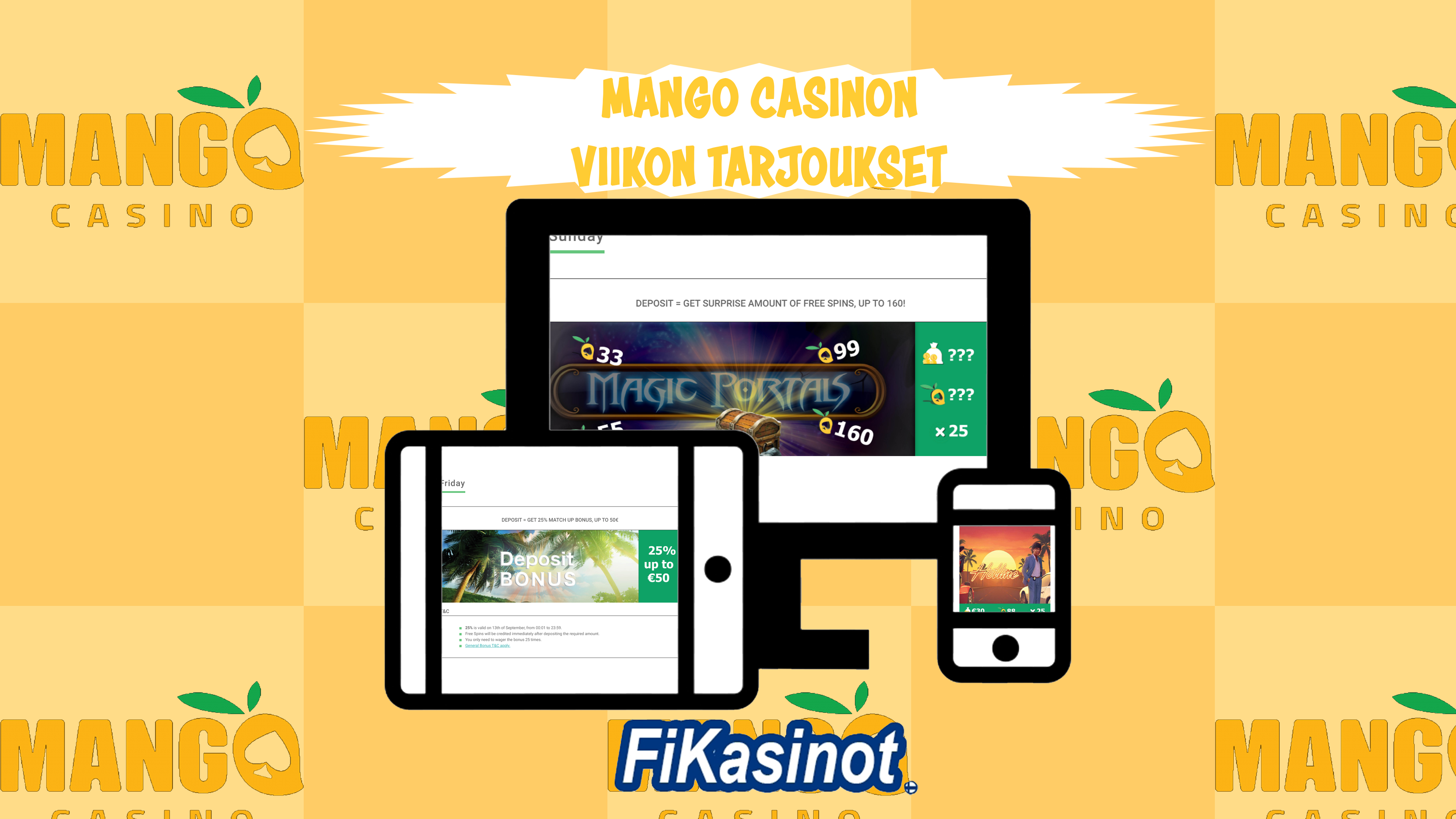 Mango Casinon viikoittaiset tarjoukset