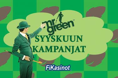Mr Green syyskuun kampanjat