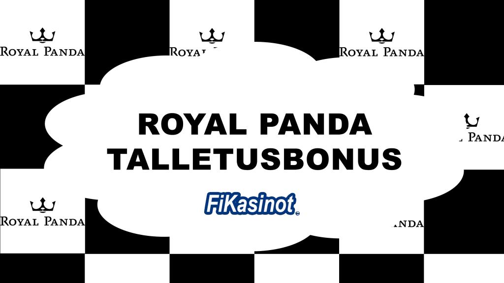 Royal Panda talletusbonus