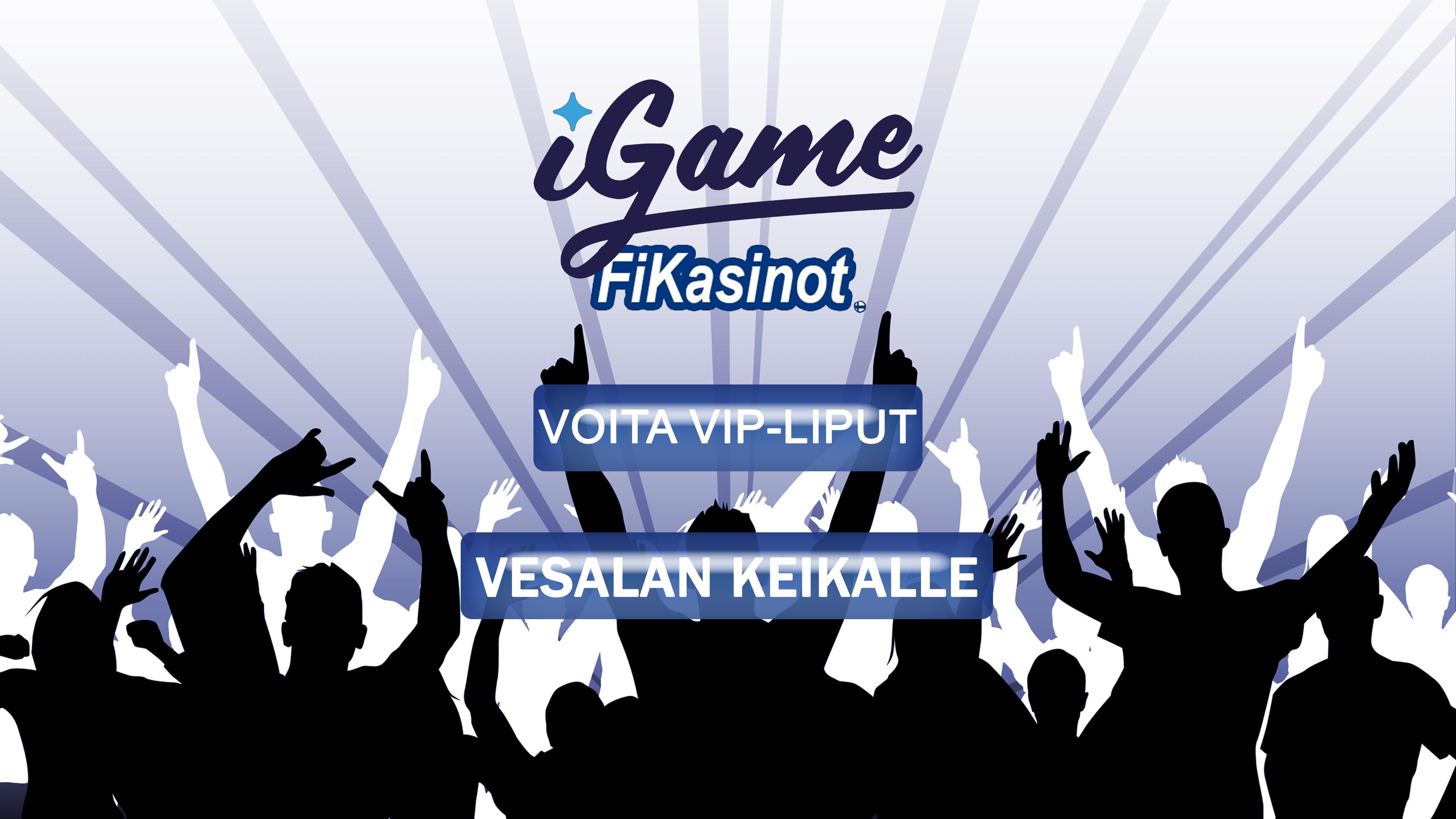 Voita VIP-liput Vesalan keikalle