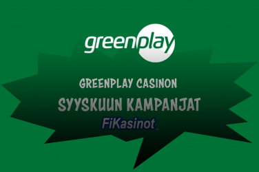 GreenPlay Casinon syyskuun kampanjat