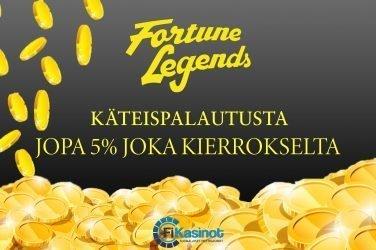 Fortune Legends syyskampanjat