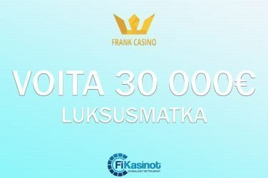 Frank Casinolta 30 000 euron arvoinen matka