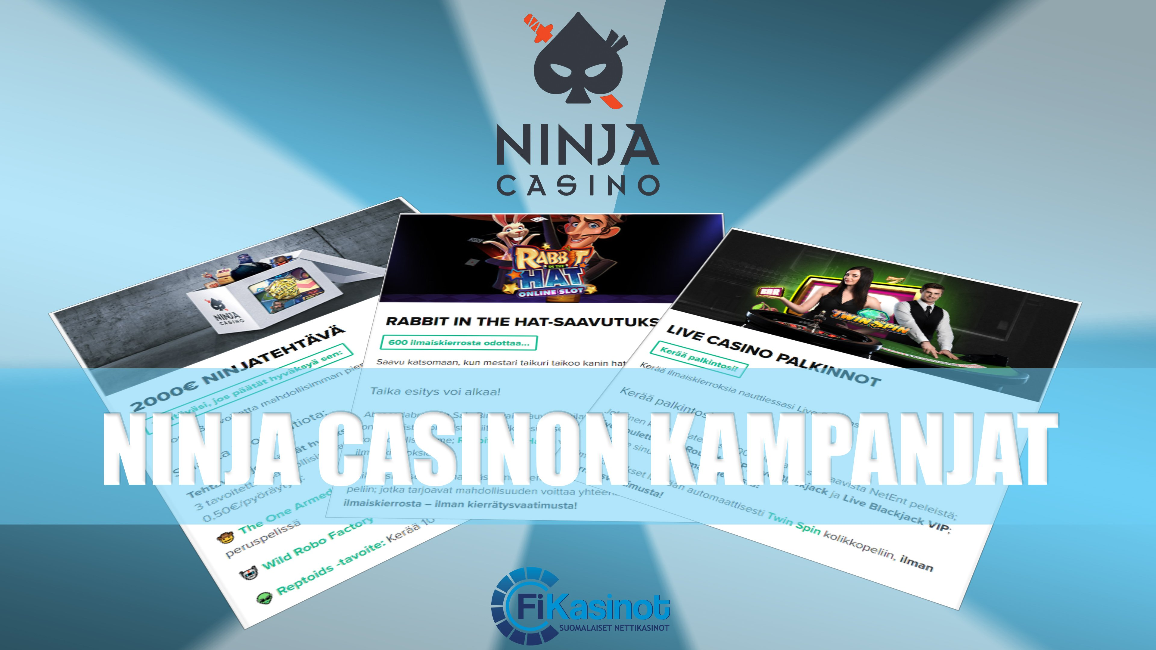 Ninja Casino Suomi lokakuun kampanjat