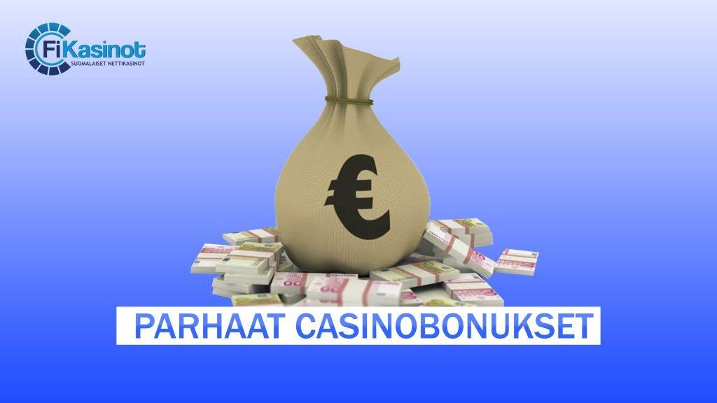 Parhaat casinobonukset
