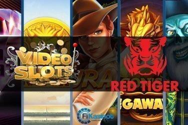Red Tigerin jättipotit Videoslotsilla