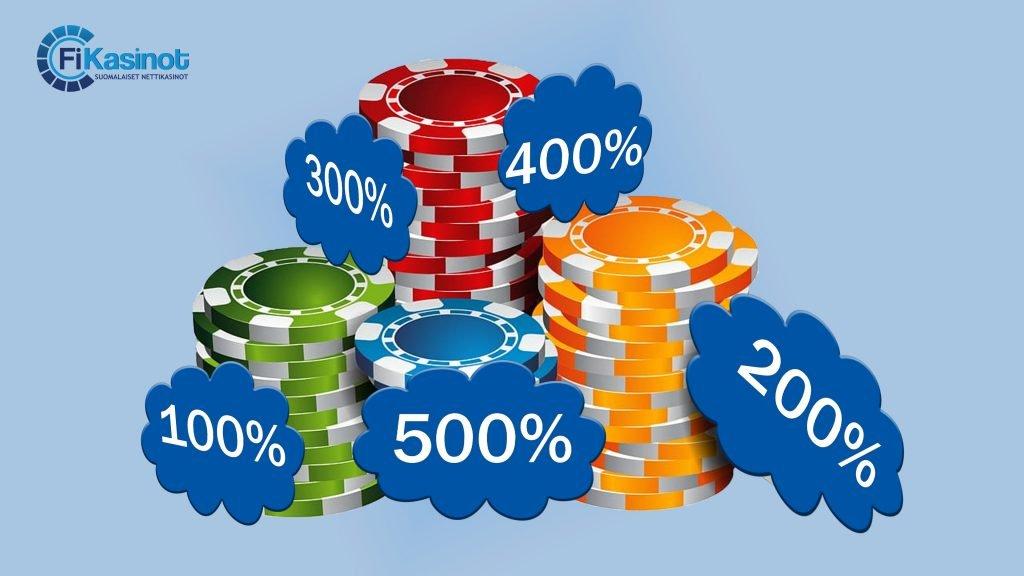 Talletusbonus prosentit