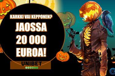 Halloween käteisturnaus Unibetilla