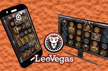 LeoVegasilla 8 000 euron Conan kampanja