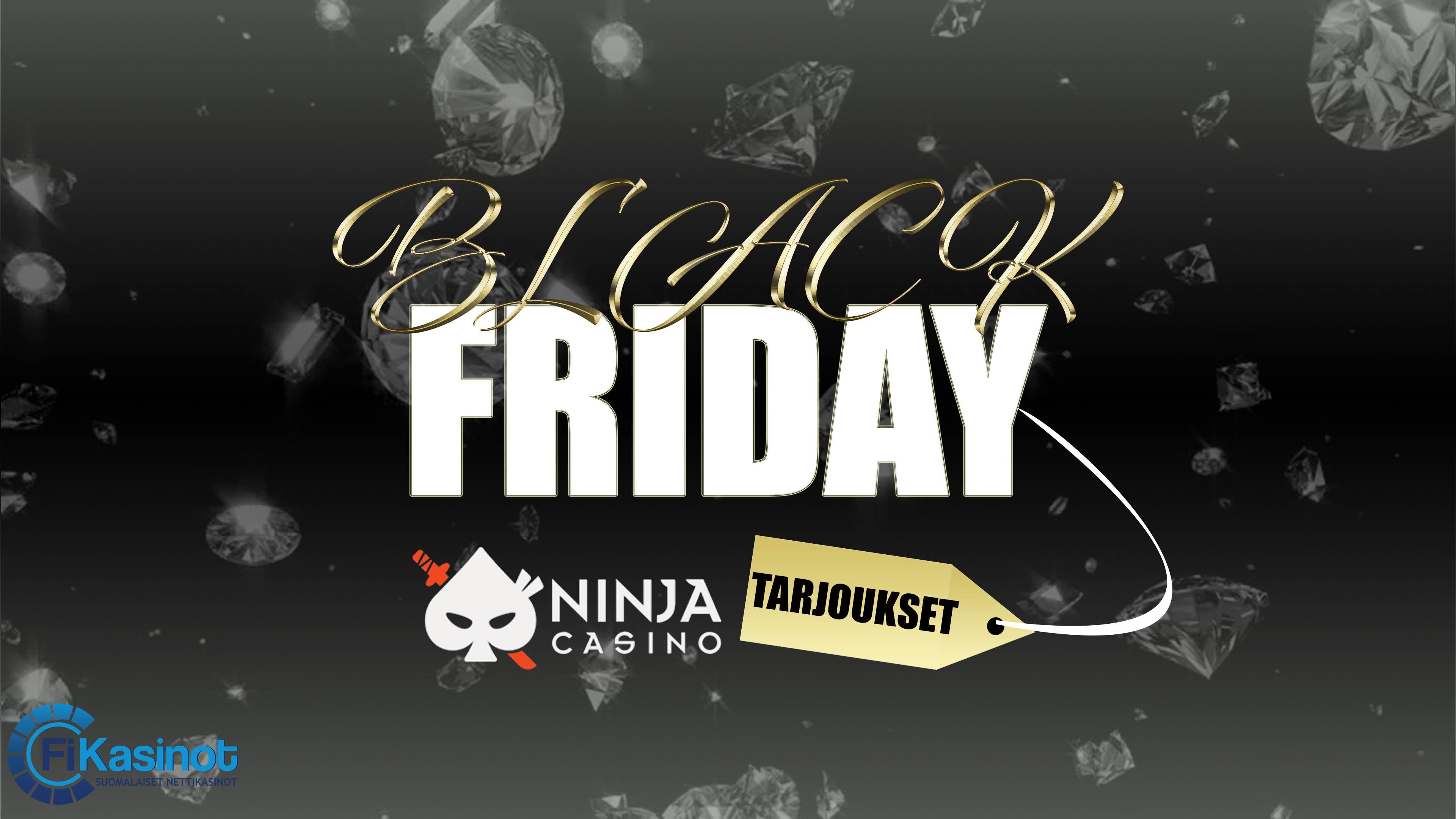 Black Friday Ninja Casinolla