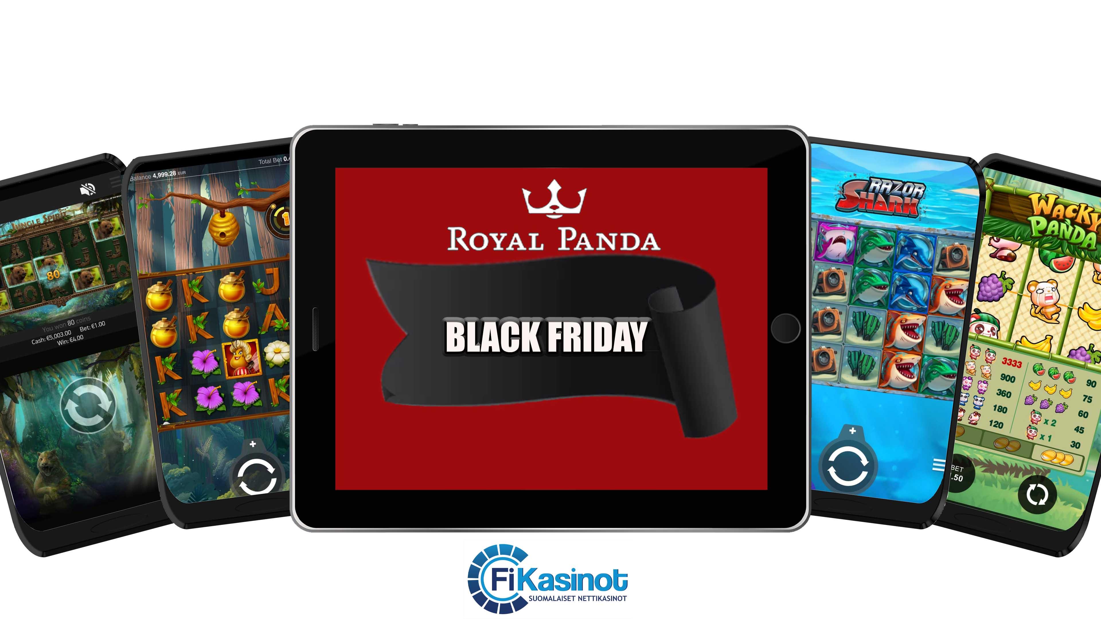 Black Friday Royal Pandalla käynnissä
