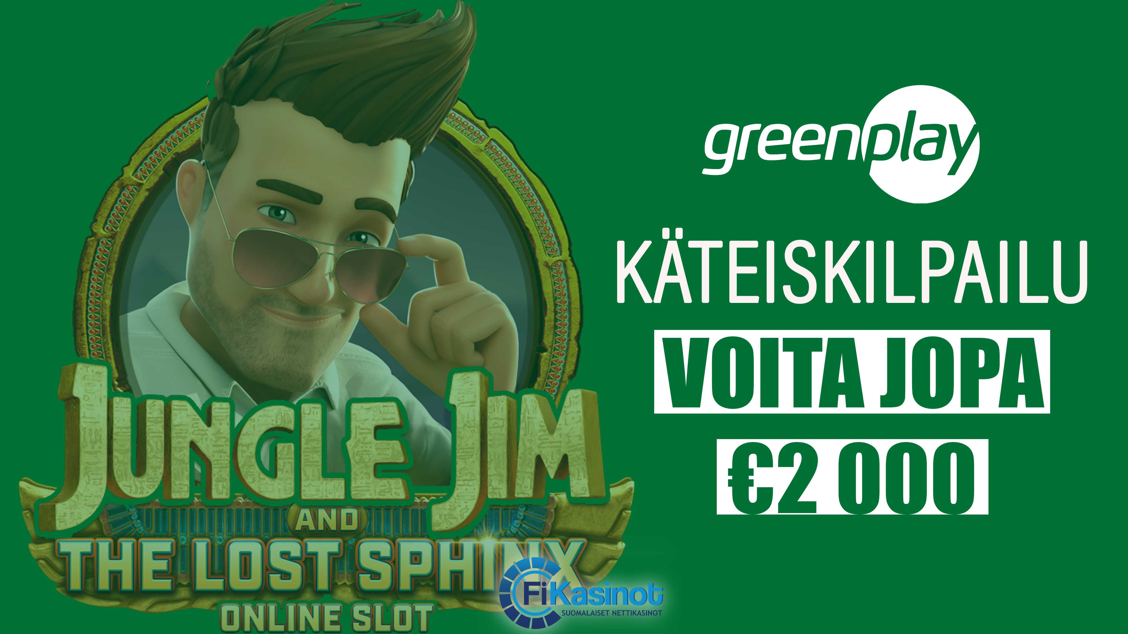 GreenPlay Casinon käteiskilpailu 21.-26.11.