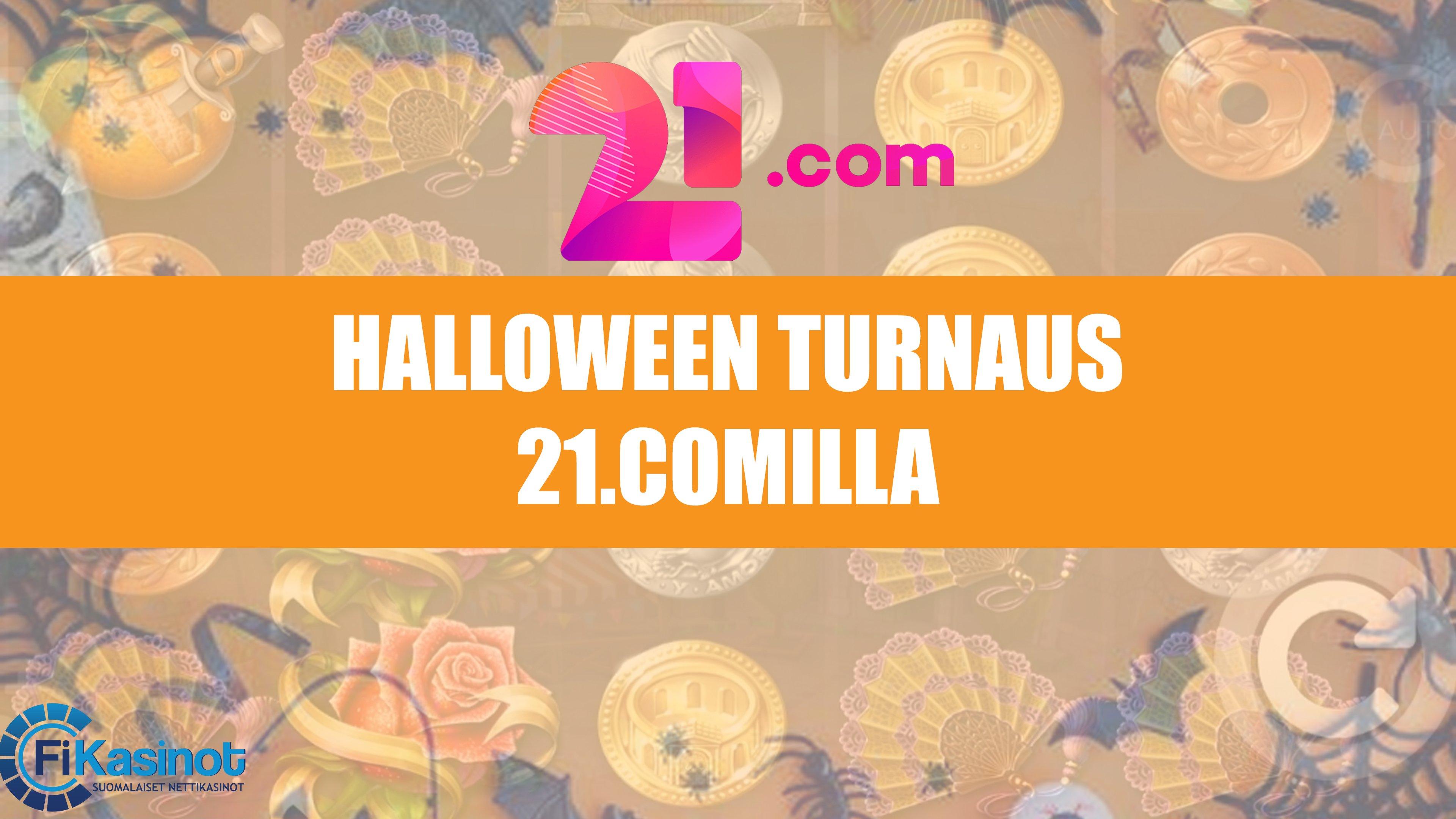 Halloweenin käteisturnaus 21 kasinolla