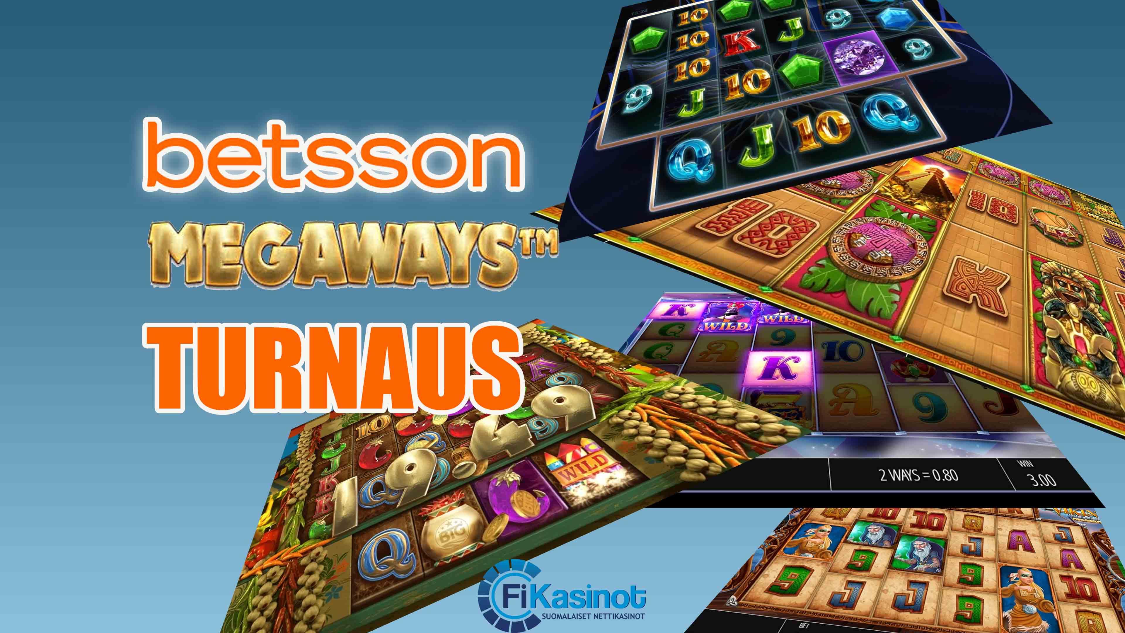Megaways turnaus Betssonilla 10 000 euroa