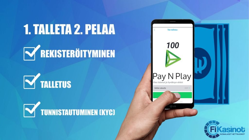 Pay N Play kasinot 2019
