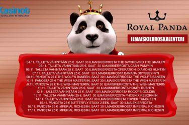 Royal Panda marraskuun kampanjat