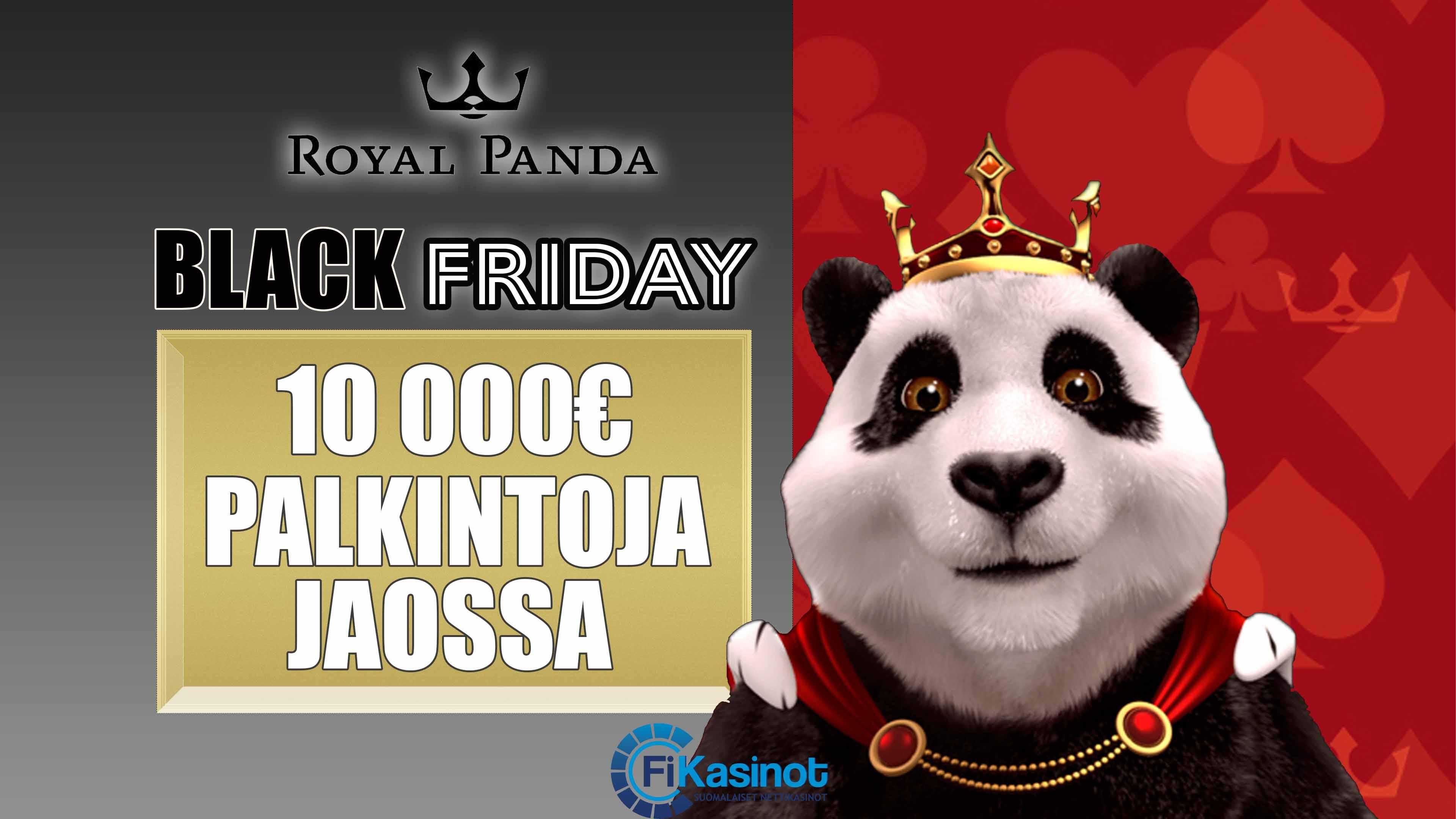 Royal Pandan Black Friday 22.-28.11.