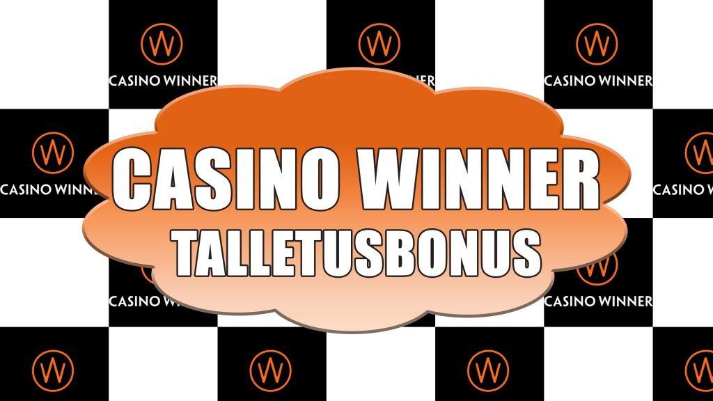 Casino Winner talletusbonus