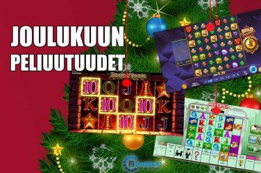 Joulukuun pelijulkaisut nettikasinoilla
